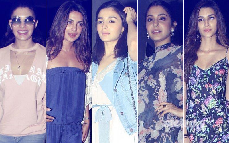 STUNNER OR BUMMER: Jacqueline Fernandez, Priyanka Chopra, Alia Bhatt, Anushka Sharma Or Kriti Sanon?