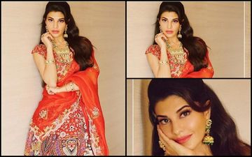 FASHION CULPRIT OF THE DAY: Jacqueline Fernandez Goes Totally Overboard With Her Indian Do!