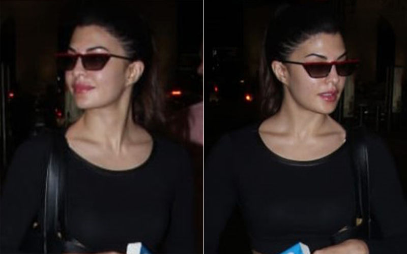 Jacqueline Fernandez's 'Blast From The Past' Outfit Is Giving Us Airport Look Goals!