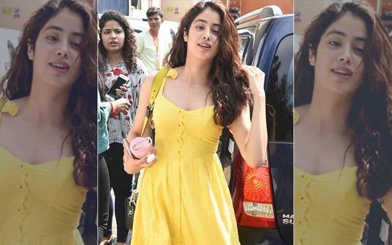 Loved Janhvi Kapoor's Yellow Strappy Dress? You Can Own It Too And We Promise It Won't Create A Dent In Your Pocket