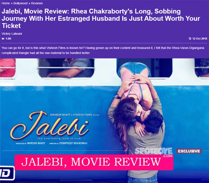 jalebi movie review
