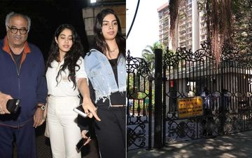 Janhvi Kapoor's Domestic Help Tests Positive For Coronavirus; Building Sealed, Boney Kapoor Releases A Statement And Thanks BMC