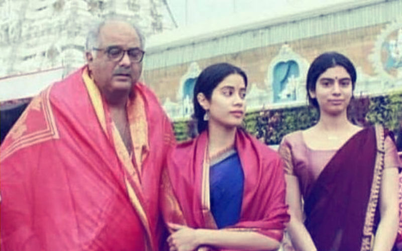 The Inside Story: Why Janhvi Kapoor Dashed Off To Tirupati Temple With Khushi & Boney