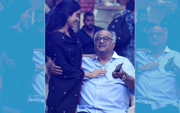 Janhvi Kapoor's Priceless Picture With Dad, Boney, Reflects A True Father-Daughter Bond!