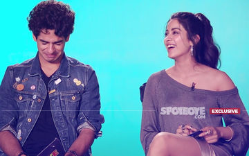 Ouch, Janhvi Kapoor Sat On A Pointed Pencil! Ishaan Khatter Kissed When 14!