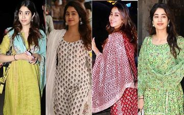 Holi 2020: Janhvi Kapoor's Wardrobe Is A Ready Reckoner In What To Wear For That Glammed-Up Holi Look