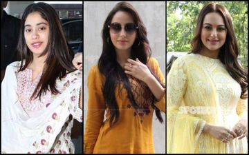 Janhvi Kapoor, Nora Fatehi And Sonakshi Sinha Are The Desi Patakhas Of The Day