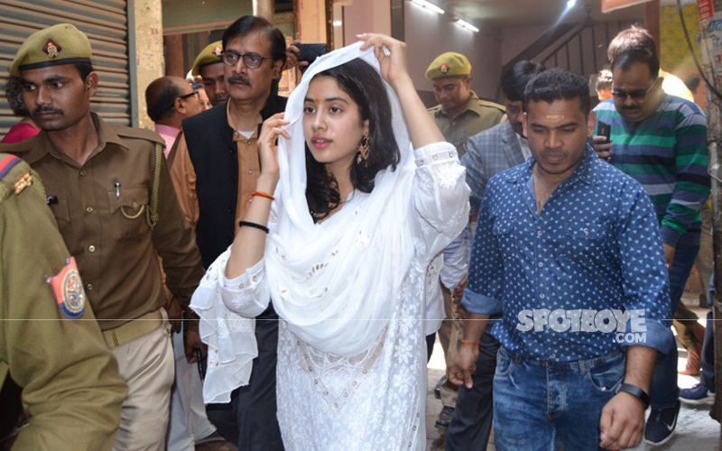Janhvi Kapoor Seeks Blessings In Varanasi, A Day Before Her Birthday