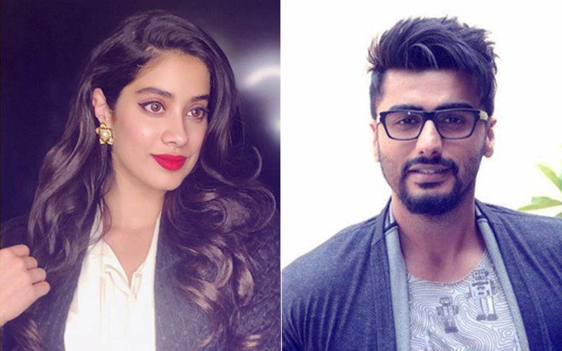 Janhvi Kapoor Pulls Arjun's Leg But Big Brother Knows How To Tackle It