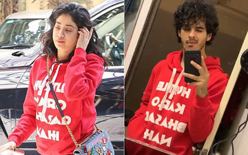 Janhvi Kapoor Trolled Again; This Time For Wearing A Red Hoodie That Was Worn By Ishaan Earlier