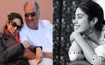 On Sridevi-Boney Kapoor's Wedding Anniversary, Daughter Janhvi Shares A Throwback Picture