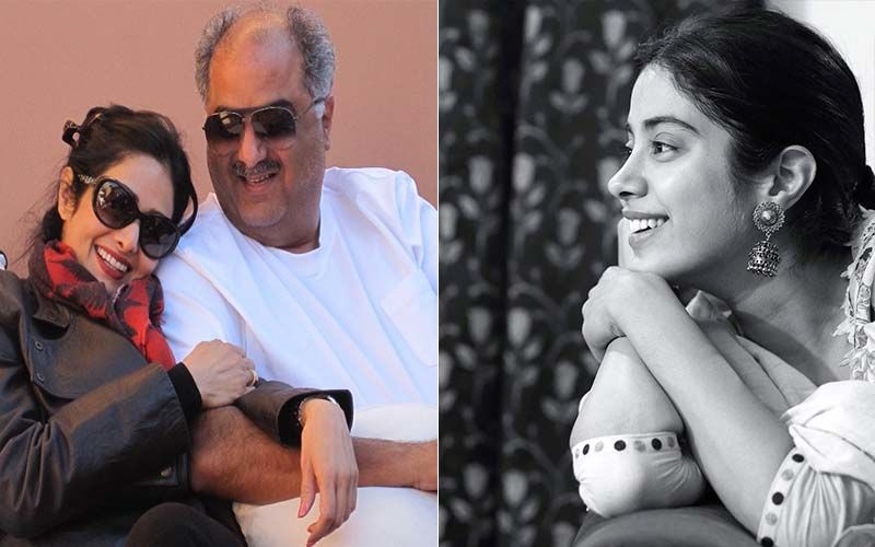 On Sridevi-Boney Kapoor's Wedding Anniversary, Daughter Janhvi Shares A Throwback Picture