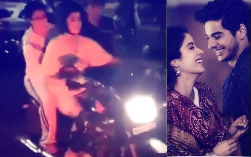Video: Janhvi Kapoor Learns Bike Riding For Her Debut Dhadak