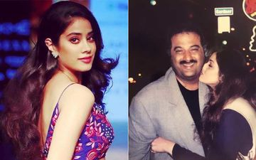 Janhvi Kapoor Shares A Throwback Picture of Sridevi's Kiss Of Love On Boney Kapoor's Cheek