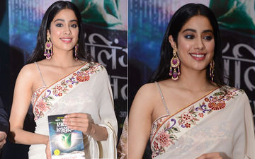 Janhvi Kapoor Gets Trolled For Holding Book Upside Down During A Book Launch; Corrects Herself Immediately