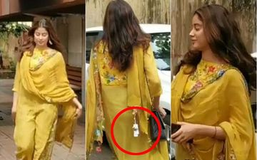 Janhvi Kapoor Has A Fashion Faux Pas Just Like Meghan Markle, Dhadak Actress Forgets To Take Off Price Tag From Her Dupatta