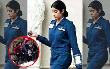 Janhvi Kapoor And Pankaj Tripathi's Pic From Sets Of Kargil Girl Leaked!