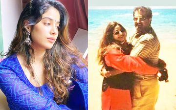 Janhvi Kapoor Remembers Her Mom Sridevi; Shares A Lovely Throwback Picture Of The Late Actress Hugging Boney Kapoor