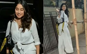 Happy Birthday Janhvi Kapoor: Dhadak Actress Spotted By The Paparazzi At Midnight; Paps Say 'Party Hard, Janhvi' Leave Her Laughing - VIDEO