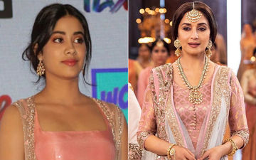 Here's What Janhvi Kapoor Felt After Seeing Madhuri Dixit Instead Of Sridevi In Kalank Teaser