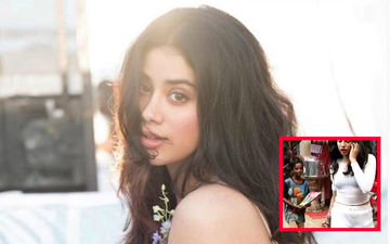 Janhvi Kapoor Borrows Money From Her Driver, Offers It To A Kid Selling Books On The Street- VIDEO