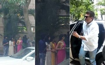 Janhvi Kapoor, Boney Kapoor Attend Sridevi's Prayer Meet In Chennai, South Star Ajith Kumar Arrives- PICS AND VIDEOS
