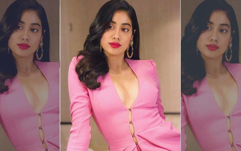 Janhvi Kapoor's Look From RoohiAfza Disclosed; Actress Snapped Shooting In Uttarakhand