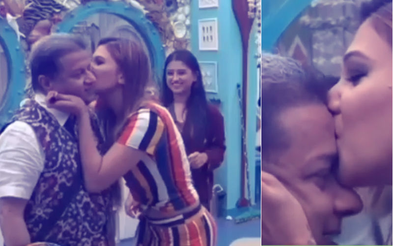 Bigg Boss 12: Jasleen Matharu Kisses Anup Jalota On National Television