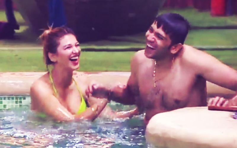 Bigg Boss 12: बिकिनी पहन स्विमिंग पूल में उतरी जसलीन ने रोमिल के साथ किया ऐसा कुछ कि वो बोल उठे- मेरा तलाक हो जायेगा