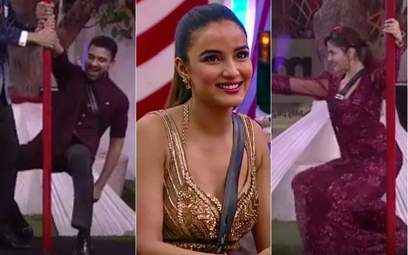 Bigg Boss 14 Somvaar Ka Vaar SPOILER: Jasmin Bhasin, Arshi Khan Get 'Sharamnaak Awards'; Rubina Dilaik, Eijaz Khan Flaunt Sexy Moves During Pole Dance