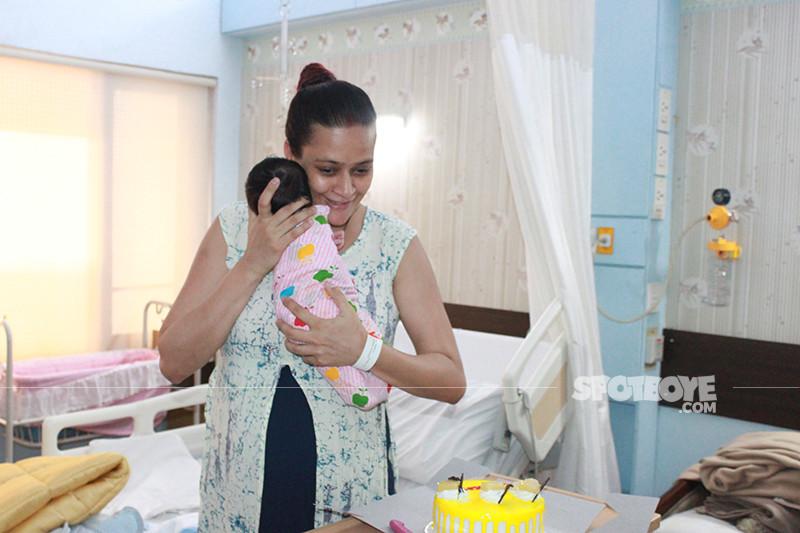 jaswir kaur with the baby