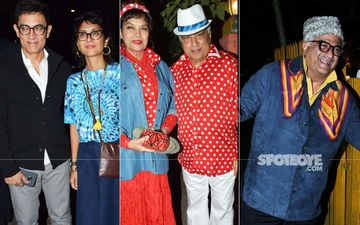 Javed Akhtar's 75th Birthday Bash: Aamir Khan, Anil Kapoor, Boney Kapoor Go Retro And Celebrate In '70s Style