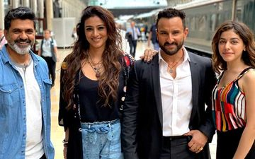 "Tabu Calls Saif Ali Khan ""Humourous"" As She Reunites With Him In Jawaani Jaaneman"