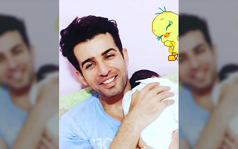 Jay Bhanushali Puts Up An 'Adorable' Photo With His Newborn Daughter On His Instagram Which Will Give You A Reason To Smile