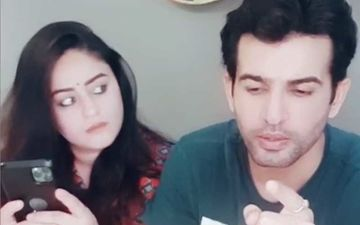 Mahhi Vij Asks Husband Jay Bhanushali To Spell 'Happiness', Actor's Answer Will Make You ROFL- VIDEO
