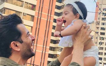 Jay Bhanushali's Adorable Pic With Daughter Tara Is Like A Breath Of Fresh Air In This Tensed Situation