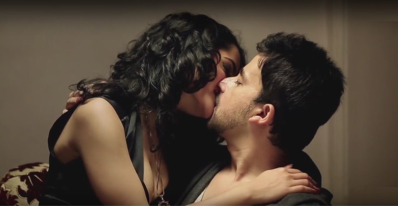 jayashree venkataramanan akhlaque khan kiss for upcoming film
