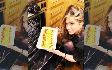 Jennifer Aniston Makes 'F**king FRIENDSgiving Enchiladas' For Jimmy Kimmel After His Complaint Last Year-VIDEO