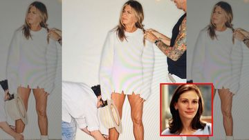 Jennifer Aniston's Latest Grumpy Picture Has A 'Julia Roberts From Notting Hill' Connect And It's Simply Unmissable