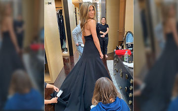 Jennifer Aniston Gives A Sneak Peek Into Her HUGE Walk-In Closet As She Gears Up For Golden Globes 2020
