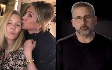 FRIENDS Stars Jennifer Aniston And Lisa Kudrow Have A Fall Out Over Steve Carell? Here's The TRUTH