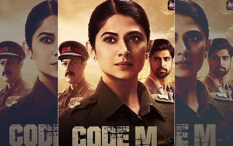 Code M Poster Reveal: Jennifer Winget Looks Promising As An Indian Army Lawyer