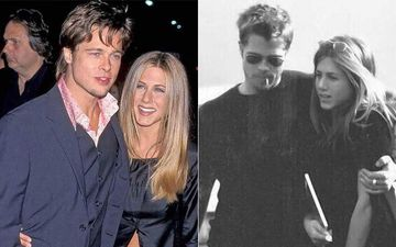 Jennifer Aniston's 51st Birthday: These TB Pictures Of Jennifer Aniston And Brad Pitt Are The Reason We Are LOVING LIVING Today