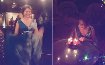 Inside Video: Look Who Got The First Bite Of Jennifer Winget's Birthday Cake