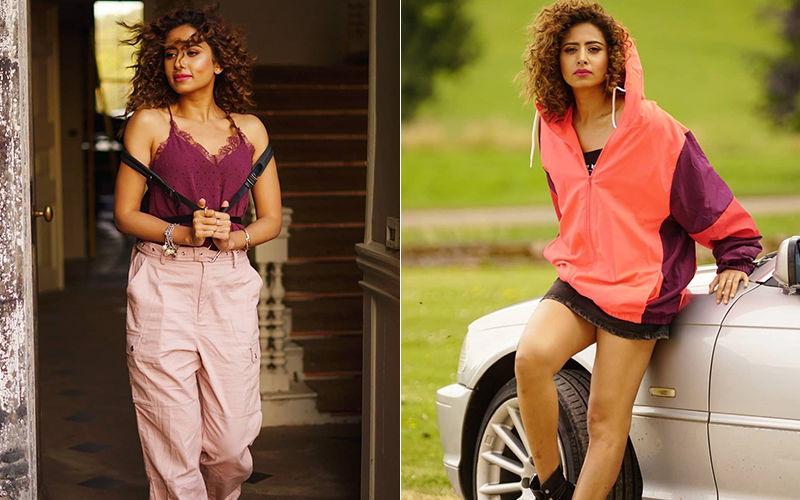 'Jhalley': Sargun Mehta Rocks Curly Hair Looks-SEE PICS