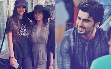 Arjun Kapoor Says That He Does Not Have Any Equation With Jhanvi & Khushi Kapoor