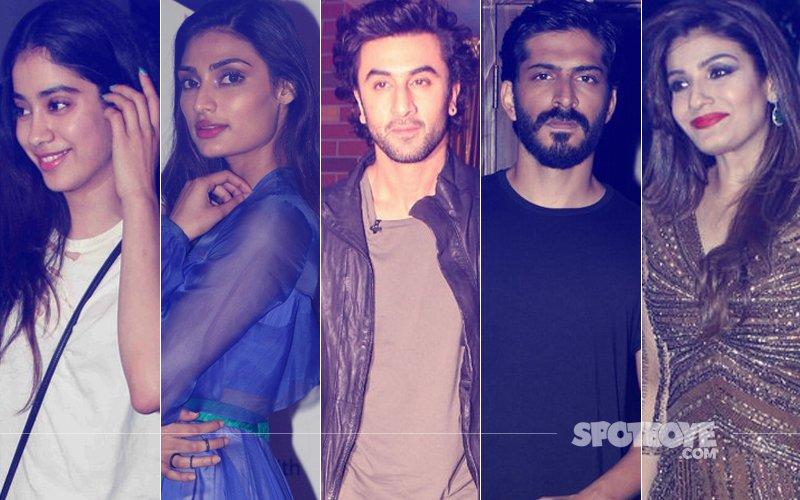 STUNNER OR BUMMER: Jhanvi Kapoor, Athiya Shetty, Ranbir Kapoor, Harshvardhan Kapoor Or Raveena Tandon?