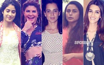 STUNNER OR BUMMER: Jhanvi Kapoor, Jacqueline Fernandez, Kangana Ranaut, Rani Mukerji Or Kriti Sanon?