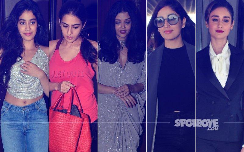 STUNNER OR BUMMER: Jhanvi Kapoor, Sara Ali Khan, Aishwarya Rai Bachchan, Yami Gautam Or Ileana D'Cruz?