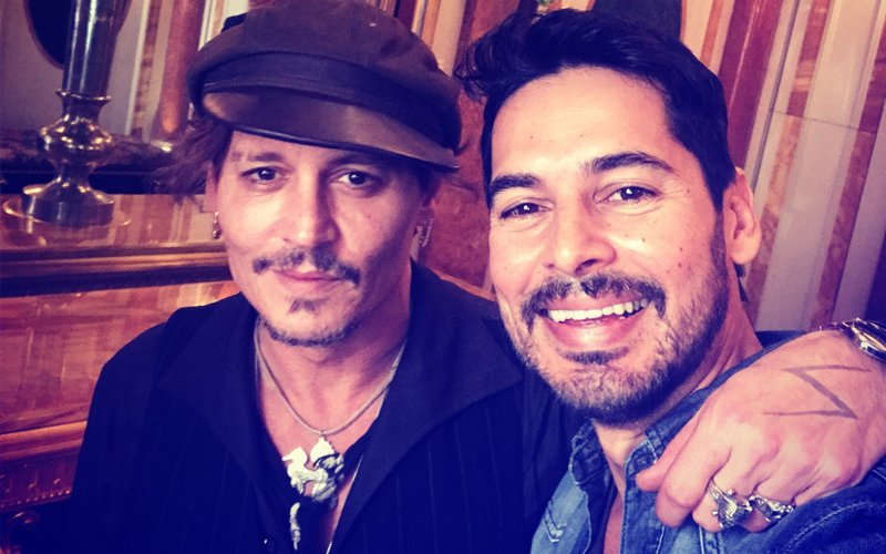 Man Crush Monday: Dino Morea Meets Johnny Depp & We Can't Stop Drooling